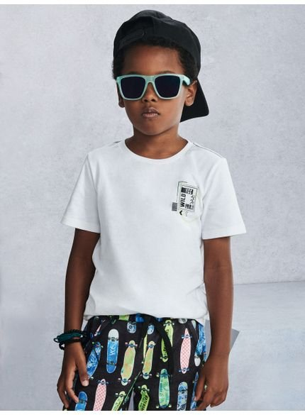 camiseta off white infantil wild look