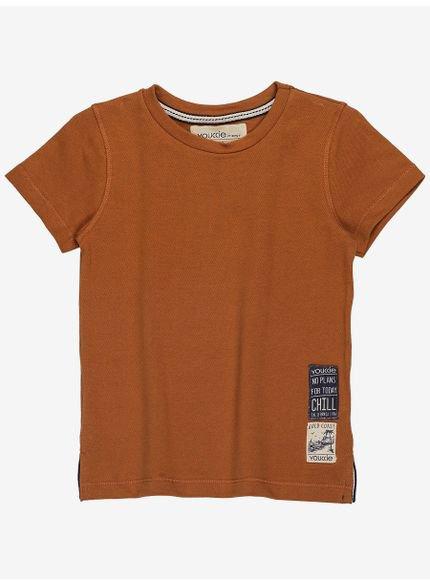 camiseta infantil masculino caramelo manga curta i0157 look
