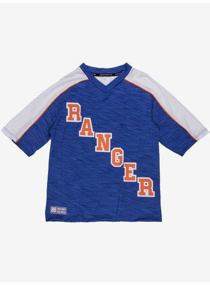 camiseta sport infantil azul manga curta d0175 still