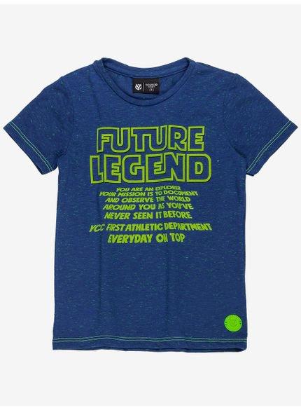 camiseta infantil azul future masculino manga curta i0031 still
