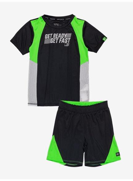 conjunto sport neon infantil masculino youccie d0221
