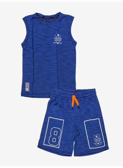 conjunto esporte azul infantil masculino d0226