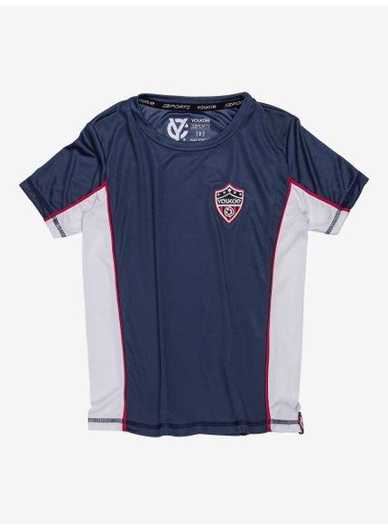 camiseta sport marinho infantil masculino youccie d0176 still
