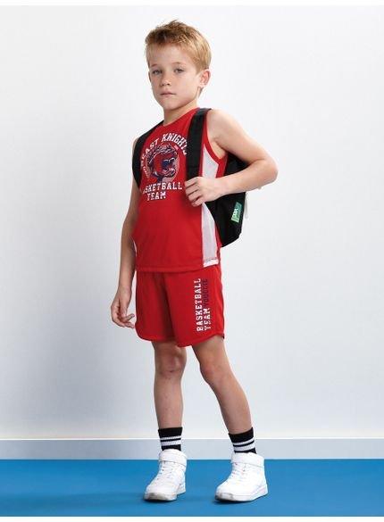 conjunto sport beast vermelho infantil youccie d0222 look completo