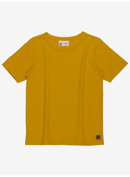 camiseta infantil basica amarela youccie d0171 still
