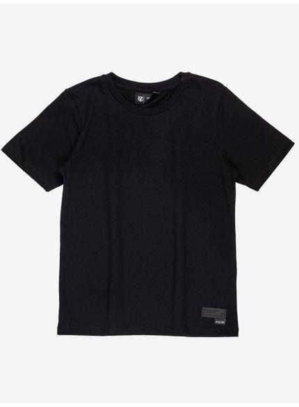 camiseta infantil basica preta youccie d0166 still