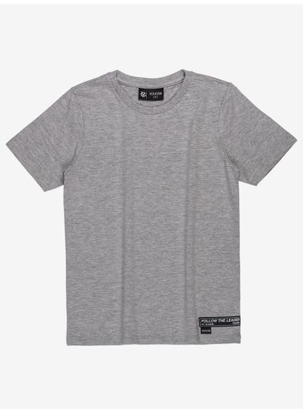 camiseta infantil basica mescla infantil masculino youccie d0169