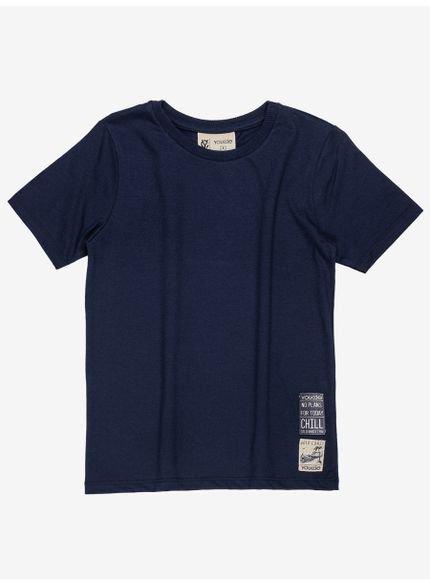 camiseta infantil basica marinho masculino youccie d0165