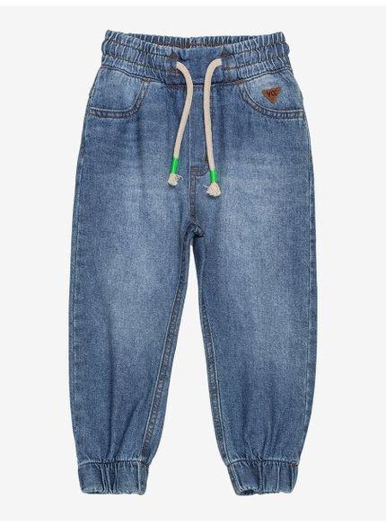 calca jogger jeans infantil youccie i0109 looki
