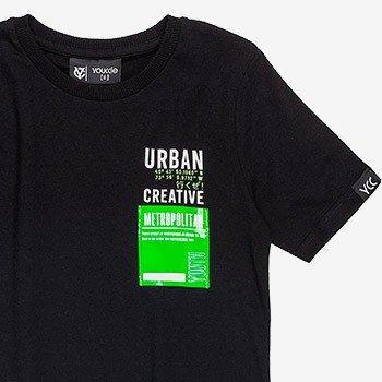 camiseta infantil masculina preta d0003 detalhes