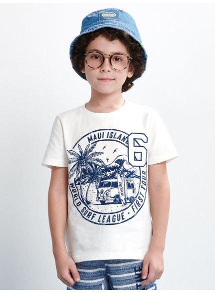 camiseta infantil estampa kombi look