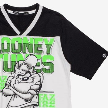 camiseta infantil looney tunes taz d0302