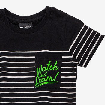camiseta infantil listrada youccie i0003