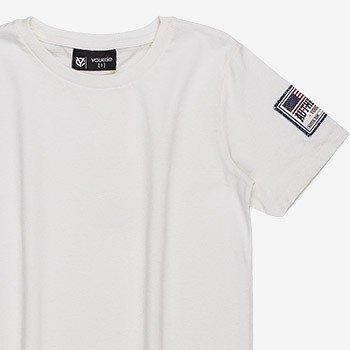 camiseta basica branca infantil masculino d0167