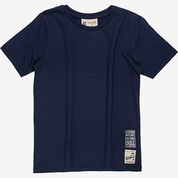 camiseta basica marinho infantil masculino youccie d0165
