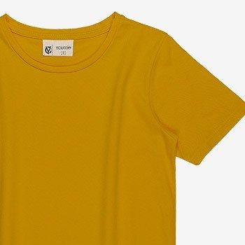 camiseta basica amarela infantil masculino youccie d0171