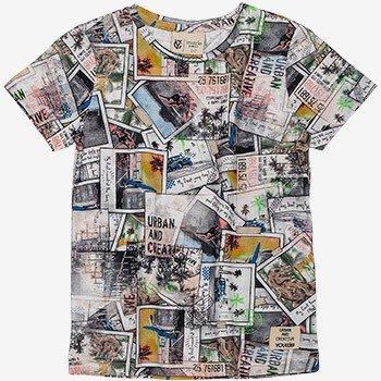 camiseta infantil estampa polaroid masculina i0078