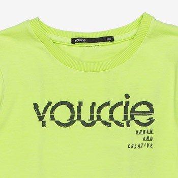 camiseta infantil verde neon youccie d0046