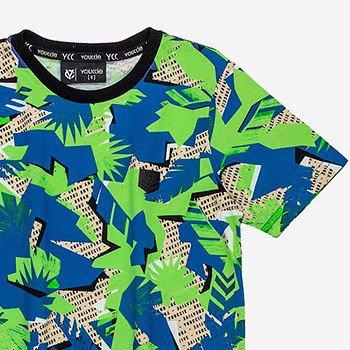 camiseta infantil estampa folhagem youccie d0064
