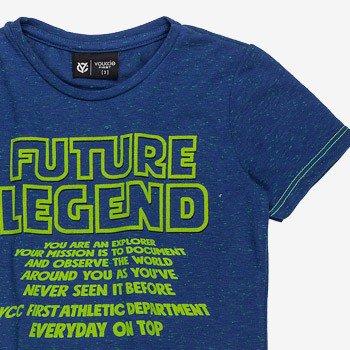 camiseta infantil futured legend azul i0031