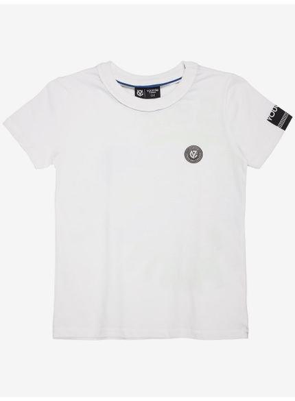 camiseta infantil dinossauro branca masculina still