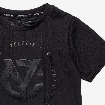 camiseta infantil sport preta masculino d0041