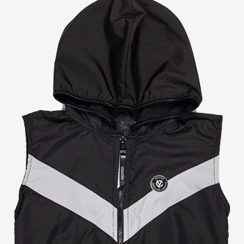 colete esportivo preto infantil masculino youccie d0206