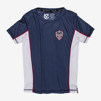 camiseta esportiva infantil marinho youccie d02019