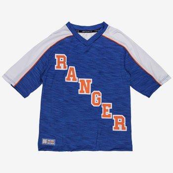 camiseta sport ranger infantil azul d0175 detalhe