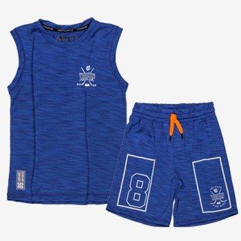 conjunto infantil esportivo azul youccie d0226 look