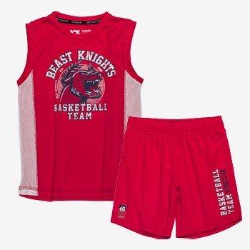 conjunto infantil esportivo vermelho beast d0222 still