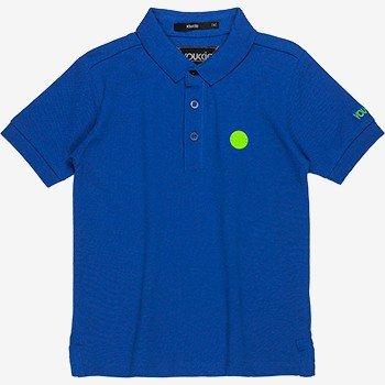 Polo Infantil de Piquet Azul D0307