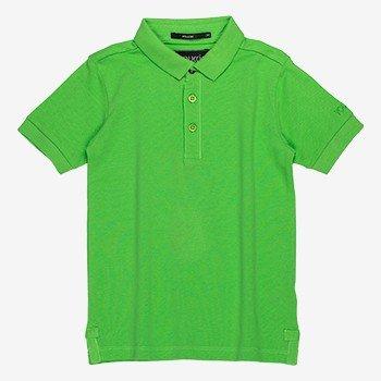 Polo Infantil de Piquet verde D0214