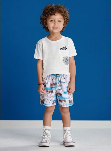 conjunto infantil masculino navy youccie i0176 look completo