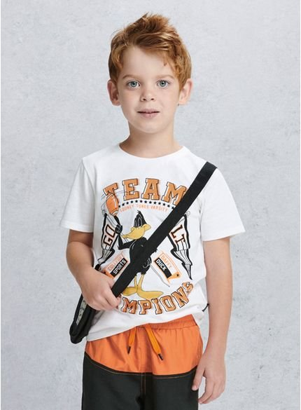 camiseta infantil patolino looney tunes d0129