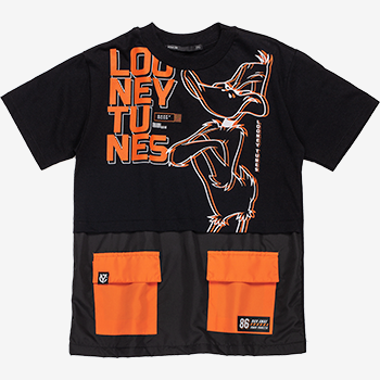 Camiseta Infantil Patolino com Bolsos
