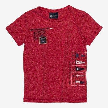 camiseta infantil masculina vermelha navy I0008 still