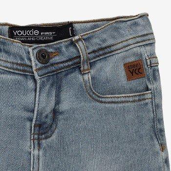 bermuda jeans infantil masculina youccie I0156 detalhes