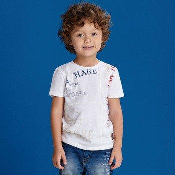 camiseta infantil masculina branca youccie I0088 detalhes