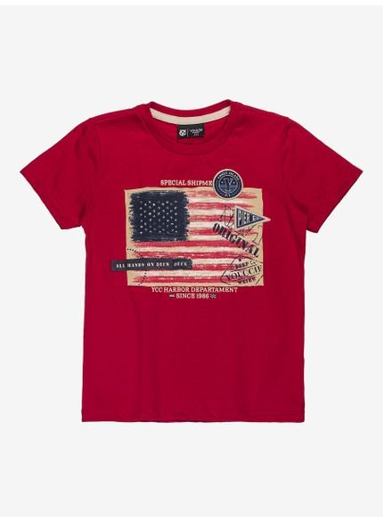 camiseta infantil masculina estampa eua youccie i0086 still