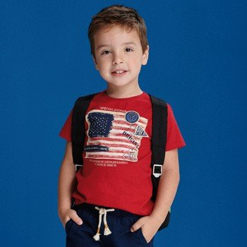 camiseta infantil masculina estampa eua youccie I0086 detalhe