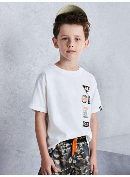 camiseta infantil masculina basquete branca youccie d0172