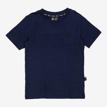 Camiseta infantil masculina basica marinho youccie detalhe