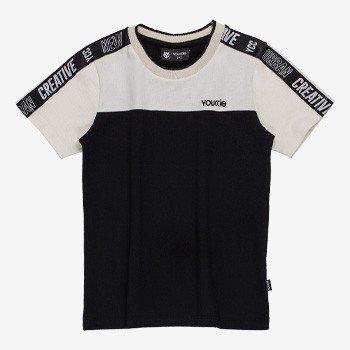 camiseta infantil masculina creative bicolor youccie d0134 detalhes
