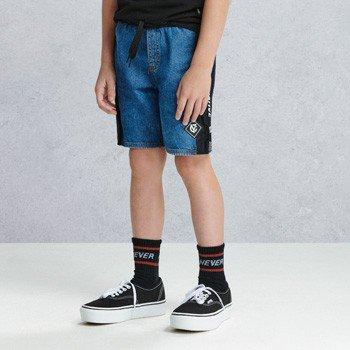 bermuda jeans infantil masculina com cadarco youccie D0204 detalhes