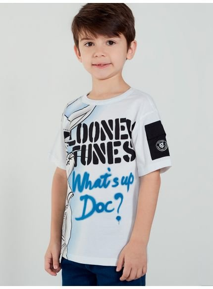 camiseta infantil pernalonga looney tunes youccie look