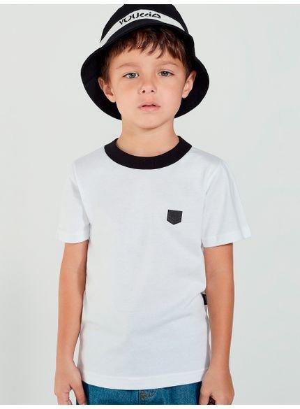 camiseta infantil masculina lisa branca youccie lok