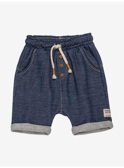 bermuda infantil masculina de moletom jeans youccie still