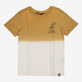 Camiseta Infantil Masculina Tie Dye Amarela youccie