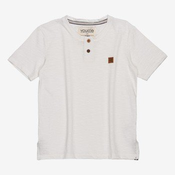 Camiseta Infantil Masculina Flame Off White youccie